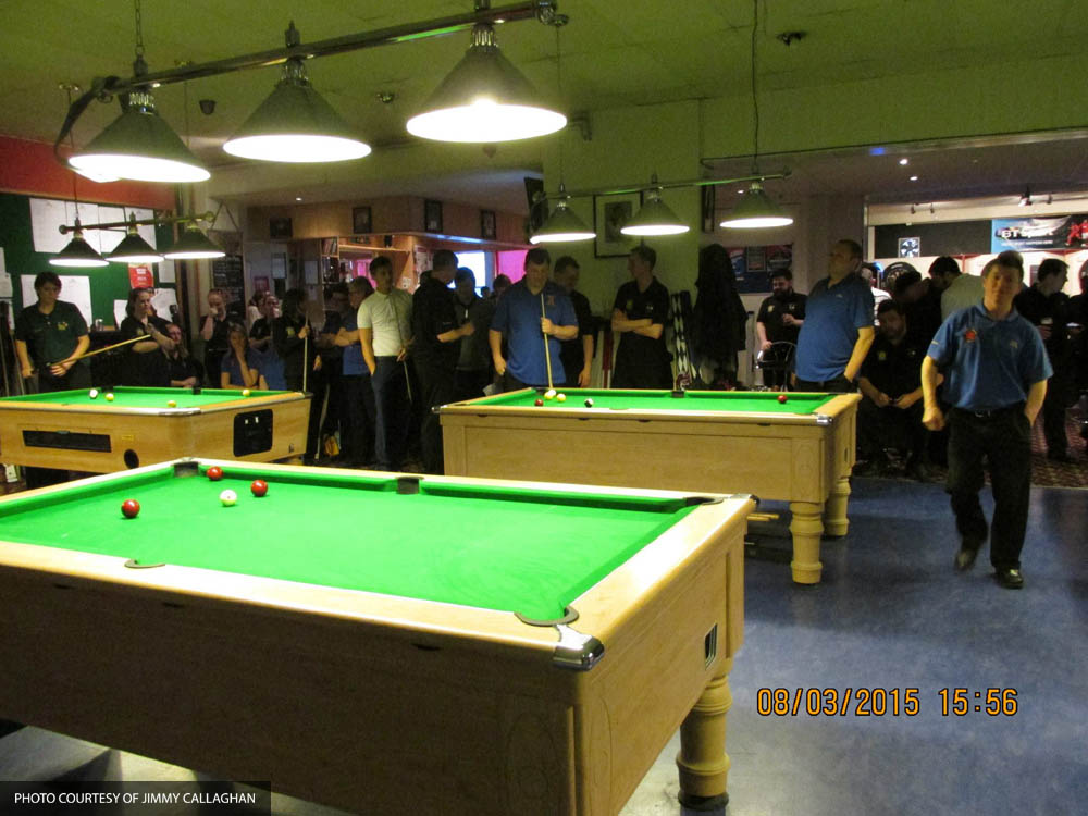 Inter-County Match v Hampshire @ Racks Snooker and Pool Bar