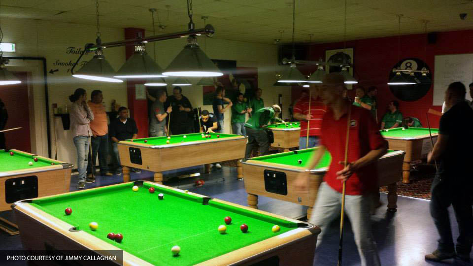 RBCPA Inter-league K.O Cup 2015 @ Racks Snooker and Pool Bar