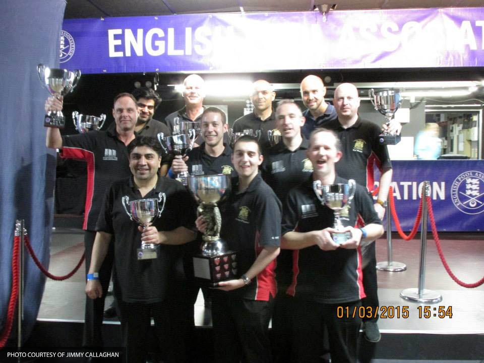 Berkshire Mens 'A' National Champions 2015